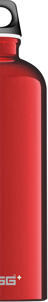 SIGG - Water Bottle Traveller Alluminium 1 Lt - Black | Traveller 1 L. e 1,5 L.