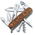 Victorinox - Multitools 91mm - Climber Wood - SWISS SPIRIT 2021 - SPECIAL LIMITED EDITION | Large Pocket Knife 91mm