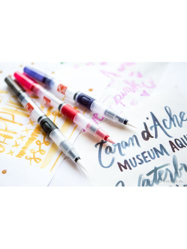 Caran d'Ache - Brush with refillable tank tip - LARGE | Paint