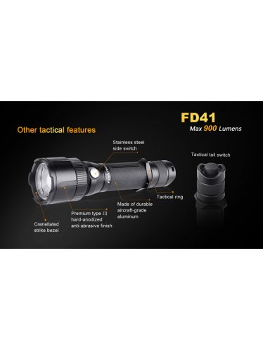 Fenix Flashlight FD41- 900 Lumens | Fenix Flashlights E - PD - LD - TK FD - UC