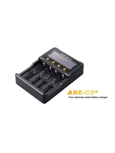 Fenix - Battery Charger ARE-C2+ Multifunction Advanced for Rechargeable Batteries Li-Ion and Ni-Mh   Fenix Batteries and Battery Chargers