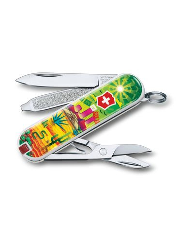 """Victorinox - Classic Limited Edition 2018 Small Pocket Knife 58 mm """"MEXICO"""" 