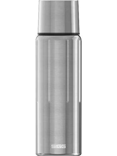 SIGG - Gemstone Thermo Flask 1,1 lt. - Steel Colour | Hot & Cold Glass Bottles