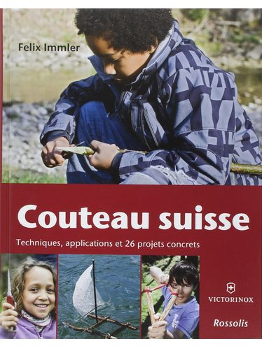 """Victorinox - Book """"Couteau suisse"""" - French language 