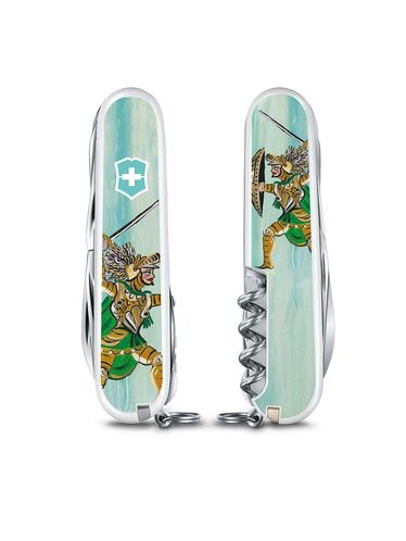 """Victorinox - Climber SICILY EDITION """"Complete Collection """"  Three Multitools 91mm Limited Edition 
