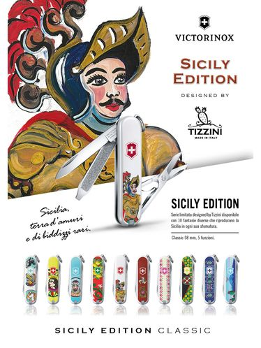 """Victorinox - SICILY EDITION """"Complete Collection """"  Thirteen Multitools  Limited Edition 