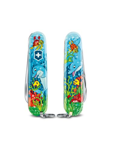 Victorinox - Multitool Knife 84mm - My First Victorinox for Children Ruby - SPECIAL EDITION - SEA | MyFirst for Children
