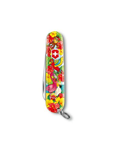 Victorinox - Multitool Knife 84mm - My First Victorinox for Children Ruby - SPECIAL EDITION - TROPICAL | MyFirst for Children