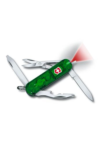 Victorinox - Multitool 58mm - Midnite Manager Ruby (White Led) [IMPERFECT PACKAGING] | Small Pocket Knife 58 mm