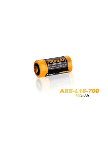 Fenix - Rechargeable Battery - 3,7 V - 700 mAh - 26650   Fenix Batteries and Battery Chargers
