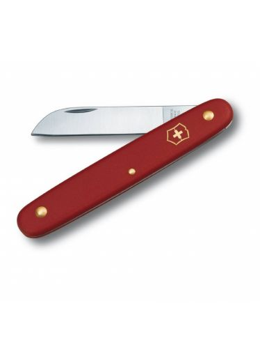 Victorinox - Floral Knife Red Handle   Garden and Sports