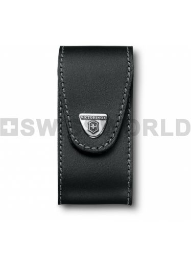 Victorinox - Leather Pouch EXTRA LARGE for 111mm Pocket Knives - Black | Original Pouches