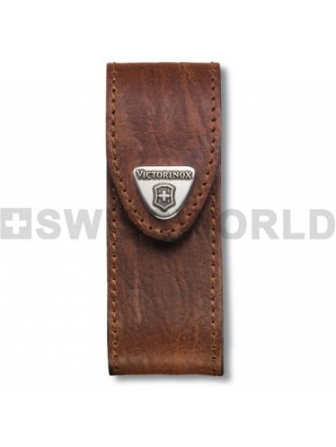 Victorinox - Leather Belt Pouch with Belt Loop SMALL for 84/91/93 mm Pocket Knives | Original Pouches