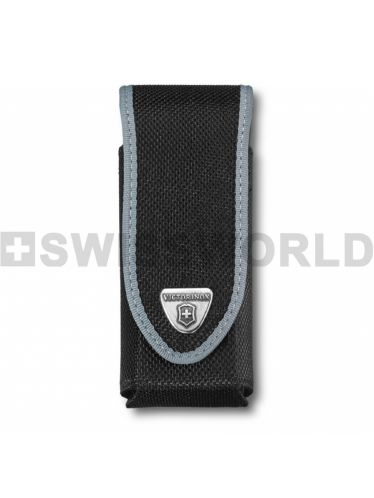Victorinox - Nylon Pouch LARGE for 111mm Pocket Knives and SwissTool - Black | Original Pouches