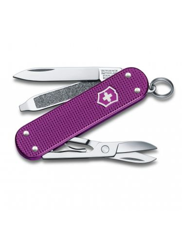 Victorinox - Multitool 58mm - Classic SD Alox Orchid Limited Edition 2016 Gift Box | Annual Numbered Editions