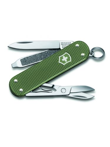 Victorinox - Multitool 58mm - Classic SD Alox Green Limited Edition 2017 | Annual Numbered Editions