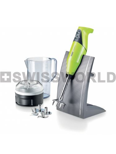 Bamix - SwissLine 200W - Cooking Robot Immersion Mixer - Lime | SwissLine and SuperBox