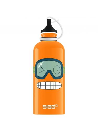 SIGG - Kids Water Bottle 0.6l - Funny Face | KIDZ Bottles 0,6L - Boys and Girls from 12 to 99 Years
