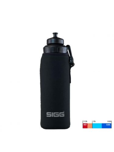 SIGG - Neoprene Thermic Pouch 0.75L Black  with hook | Hot & Cold Pouches