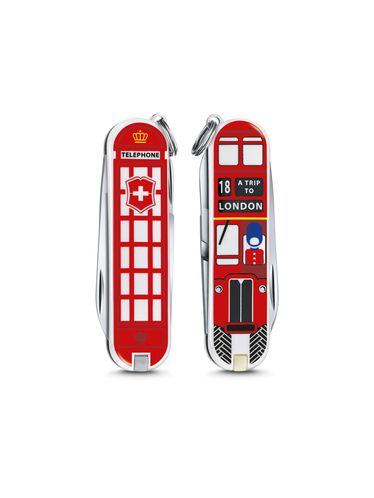 "Victorinox - Classic Limited Edition 2018 Small Pocket Knife 58 mm ""A TRIP TO LONDON"" 