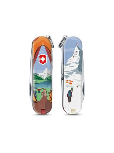 """Victorinox - Classic Limited Edition 2018 Small Pocket Knife 58 mm """"CALL OF NATURE"""" 