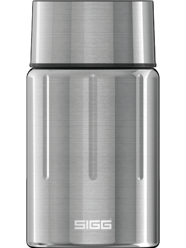 SIGG - Gemstone Thermo Flask 0,75 lt. - Steel Colour | Hot & Cold Glass Bottles