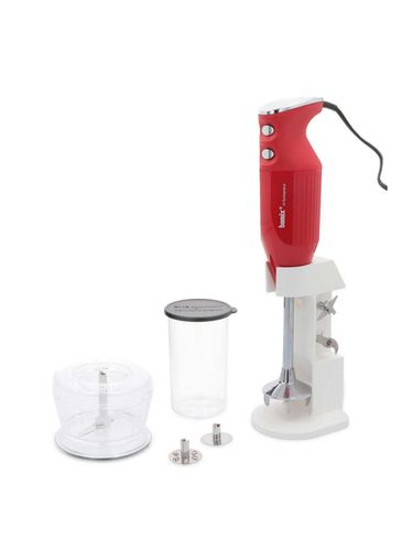 Bamix - Mono 160W - Cooking Robot Immersion Mixer with Molino Kit - Red | Mono - Basic Models