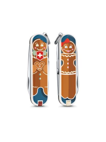 """Victorinox - Classic Limited Edition 2019 Small Pocket Knife 58 mm """"GINGERBREAD LOVE"""" 