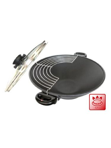 Swiss Diamond Wok with double handle 36cm | Woks