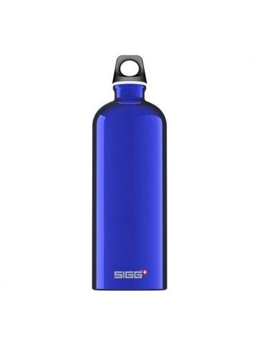 SIGG - Water Bottle Traveller 1 Lt Alluminium - Dark Blue | Traveller 1 L. e 1,5 L.