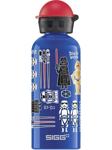SIGG - Kids Water Bottle 0.6l - Star Wars Classic | KIDZ Bottles 0,6L - Boys and Girls from 12 to 99 Years