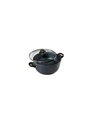 Swiss Diamond High Round Pan with Cover 24 cm (XD Version) [CLONE] | Casseroles and Dutch Ovens
