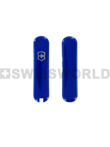 Victorinox - Cellidor Handles 58mm BLUE (For Pocket Knives WITH Pen) | Cellidor Handles