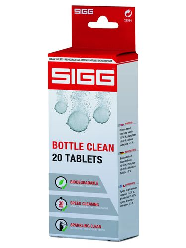SIGG - Bottle Clean Tablets (20pcs) | Spare Parts and Cleaning