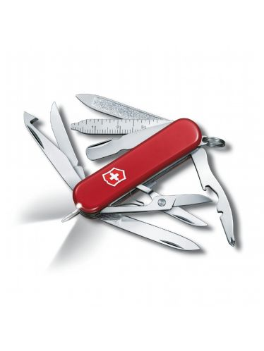 Victorinox - Multitool 58mm - Midnite MiniChamp NEW with White Led | Small Pocket Knife 58 mm