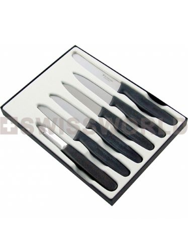 Victorinox Classic - Swiss Classic Table Knife Set 6 pieces | Cutlery and Peelers