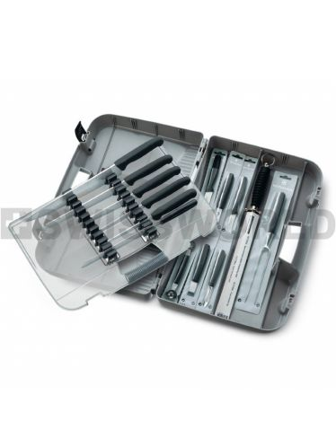 Victorinox - Swiss Classic Professional Chef's Case  Ecoline (14 Pieces) | Chef's Cases