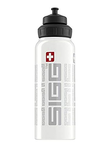 SIGG  -Water Bottle WIDE MOUTH SIGGnature 1L - White | Sport Active Top