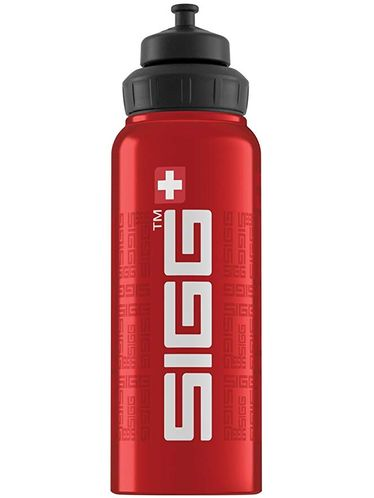 SIGG  -Water Bottle WIDE MOUTH SIGGnature 1L - Red | Sport Active Top