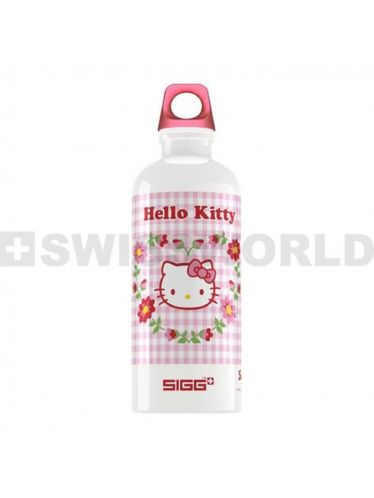 SIGG - Kids Water Bottle 0.6l - Hello Kitty | KIDZ Bottles 0,6L - Boys and Girls from 12 to 99 Years