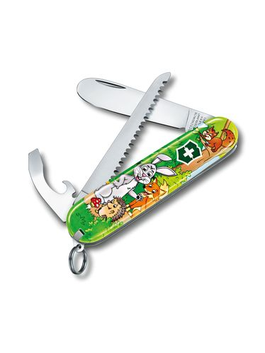 Victorinox - Multitool Knife 84mm - My First Victorinox for Children Ruby - SPECIAL EDITION - FOREST | MyFirst for Children